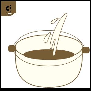 鍋中加入約半鍋飲用水 (飲水機置於汽水機旁)